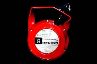 อุปกรณ์ป้องกันเพลิงไหม้ชนิดโยนเพื่อดับไฟ DSPA throw